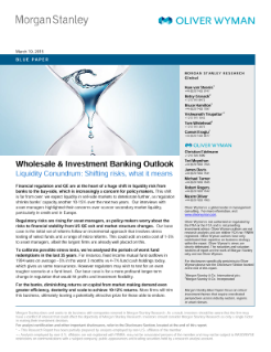 Investment banking report
