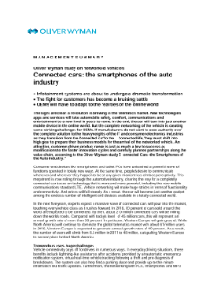 Connected Cars: The Smartphones of The Auto Industry