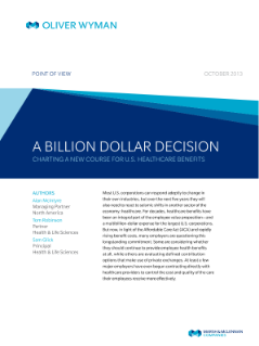 A Billion-Dollar Decision: Charting A New Course for U.S ...