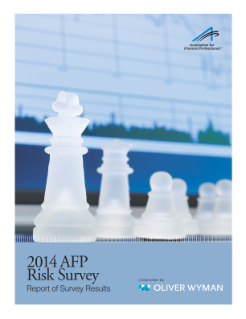 2014 AFP Risk Survey - en