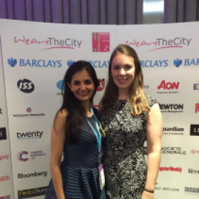 Rupal Kantaria wins Diversity Rising Star Award from We Are The City