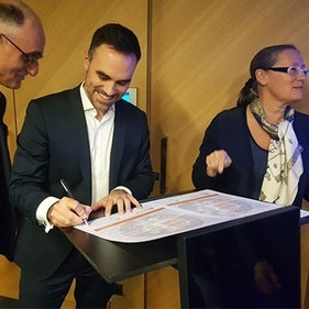 Paris Office Signs The LGBT+ Charter Of Commitment Of The Association L'Autre Cercle