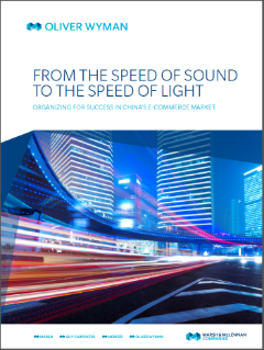 From The Speed Of Sound To The Speed Of Light: Organizing