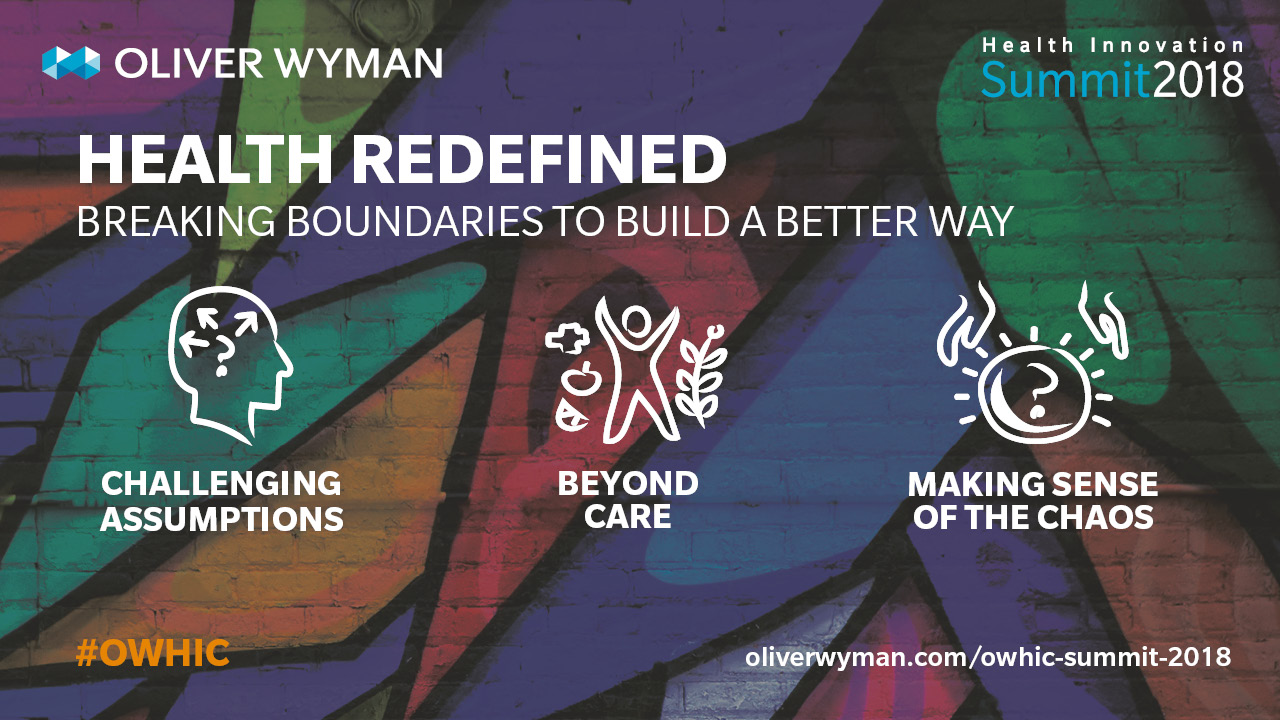 Oliver Wyman Health Innovation Summit 2018