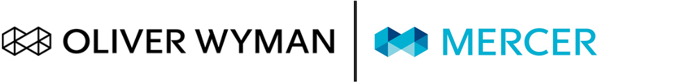 Oliver Wyman and Mercer logos