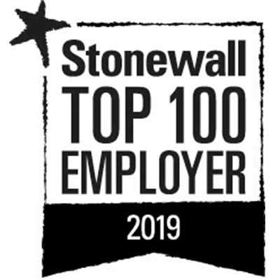 Stonewall Lists Oliver Wyman In Top 100 LGBT+ Employers 2019
