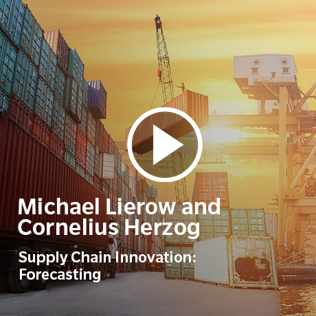 View our short film on Supply Chain Innovation: Forecasting