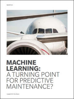 Machine Learning: A Turning Point For Predictive Maintenance?
