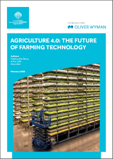 Agriculture 4 0 – The Future Of Farming Technology