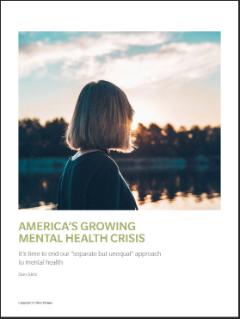 America S Growing Mental Health Crisis