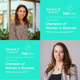 Lisa Quest and Margarita Economides featured on the HERoes Women Role Model Lists 2019!